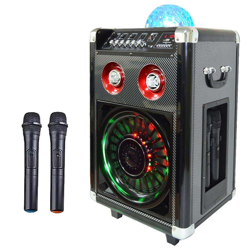 大聲公七彩炫光型無線式多功能行動音箱/喇叭