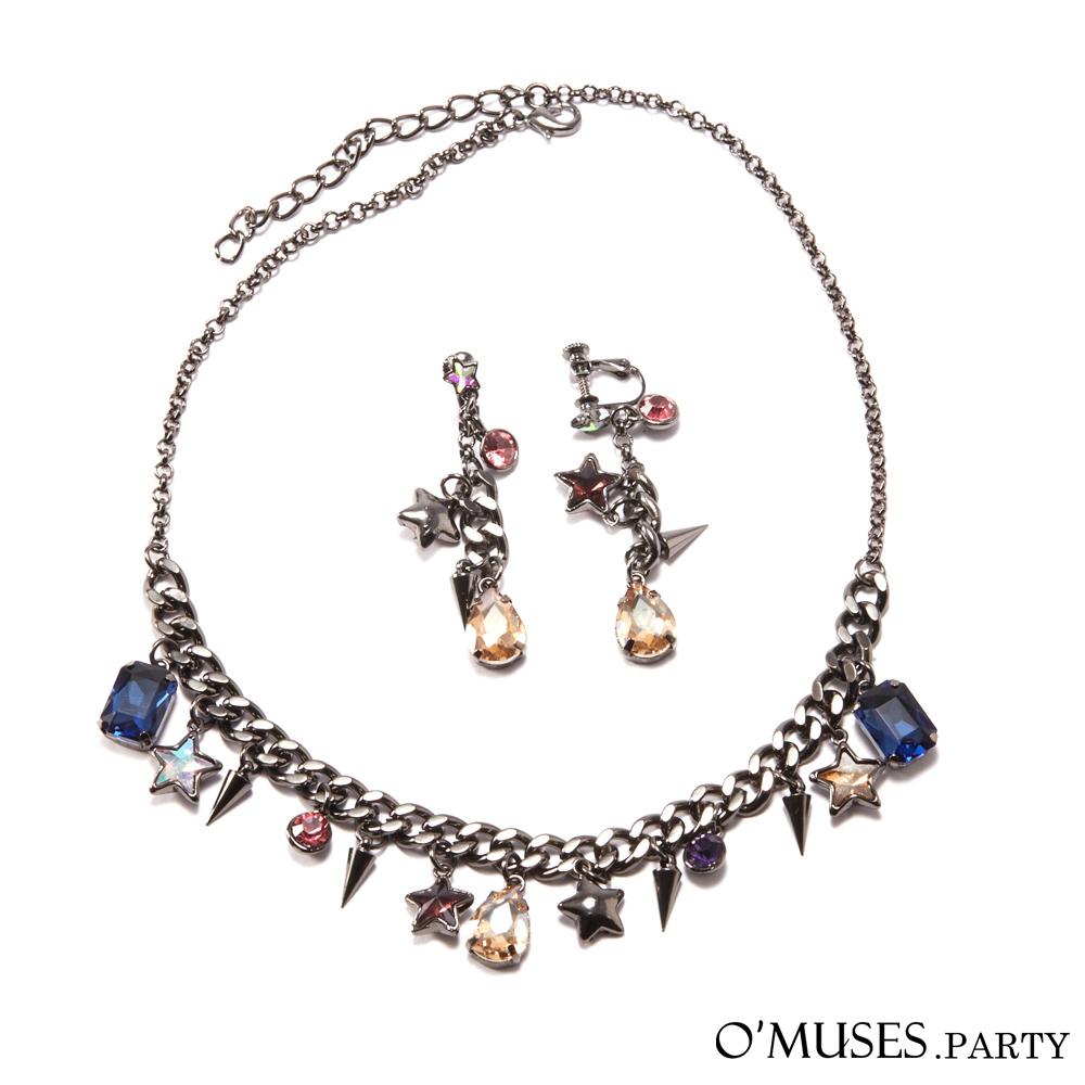 寶石項鍊套組-OMUSES