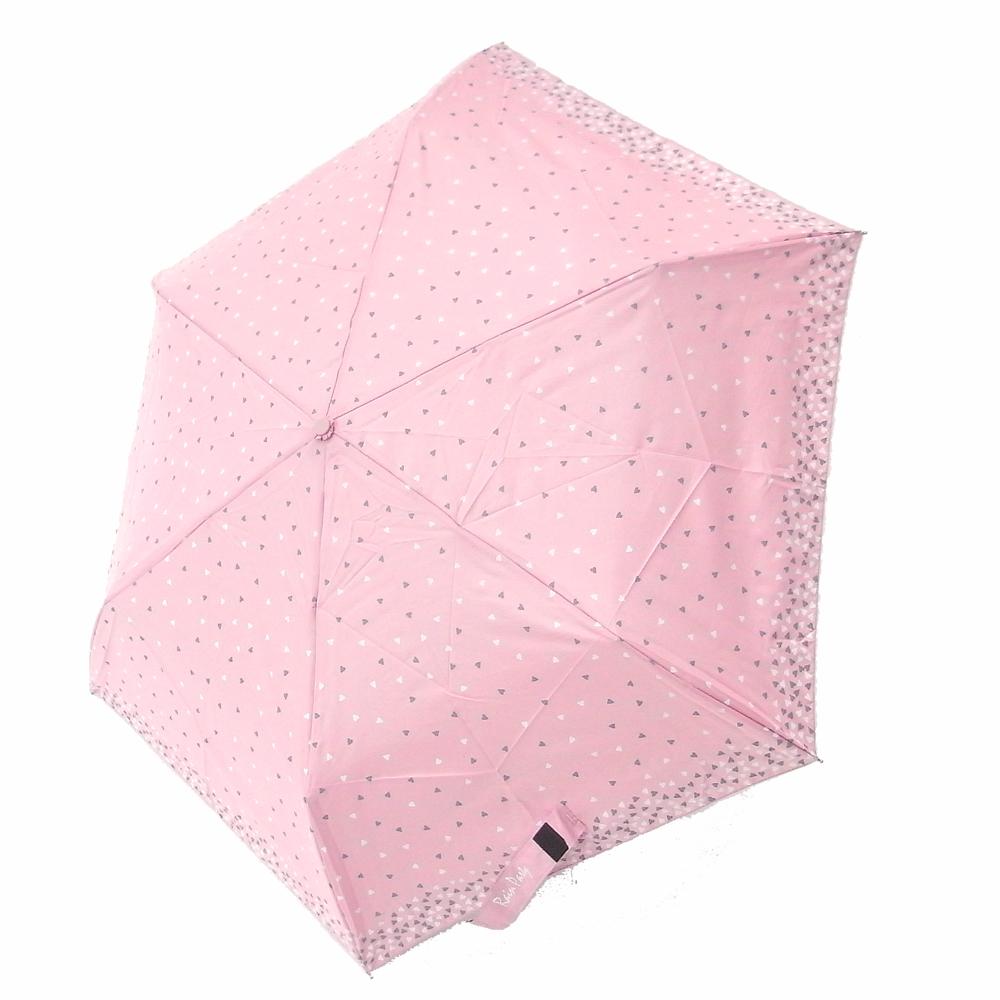 好傘王 手開傘_繽紛愛心鋼筆傘(粉紅色)