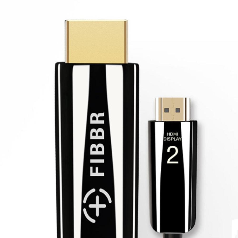 FIBBR Pure系列4K 2.0版 20米 HDMI鋼琴漆合金材質