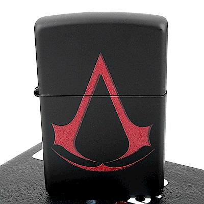ZIPPO 美系~Assassins Creed-刺客教條Logo圖案打火機