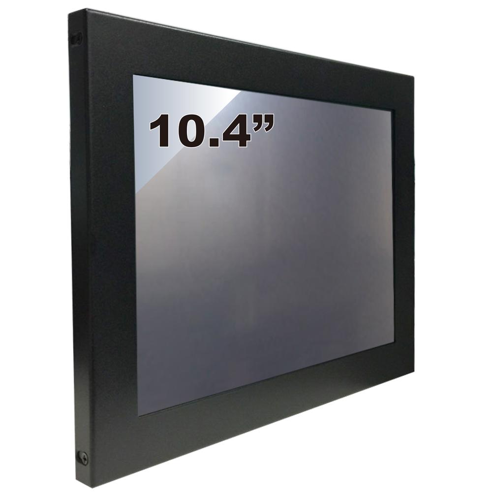 Nextech M系列 10.4吋-室外型 電阻式觸控螢幕(前防水+高亮度)
