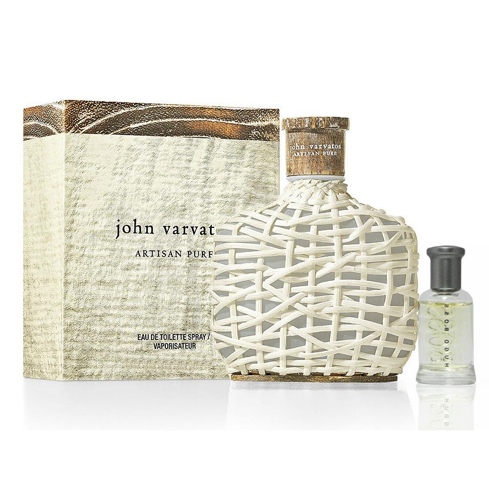 John Varvatos 工匠純淨男性淡香水 75ml 搭贈隨機 4ml 小香 @ Y!購物