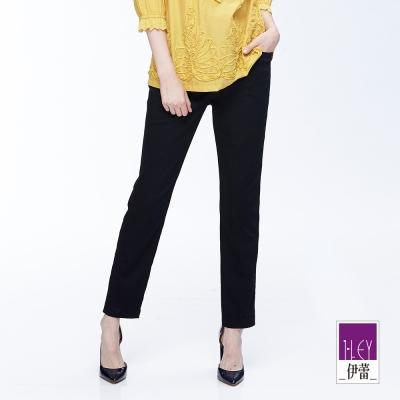 ILEY伊蕾 簡約時尚窄管褲魅力價商品(黑)