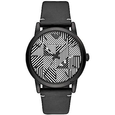 Emporio Armani 亞曼尼幾何概念手錶(AR11136)-43mm