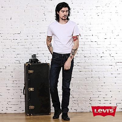 Levis 男款 511 低腰修身窄管牛仔長褲 / 硬挺無彈性