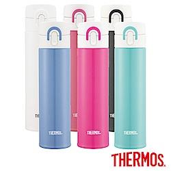 THERMOS膳魔師 超輕量彈蓋不鏽鋼保溫瓶0.4L