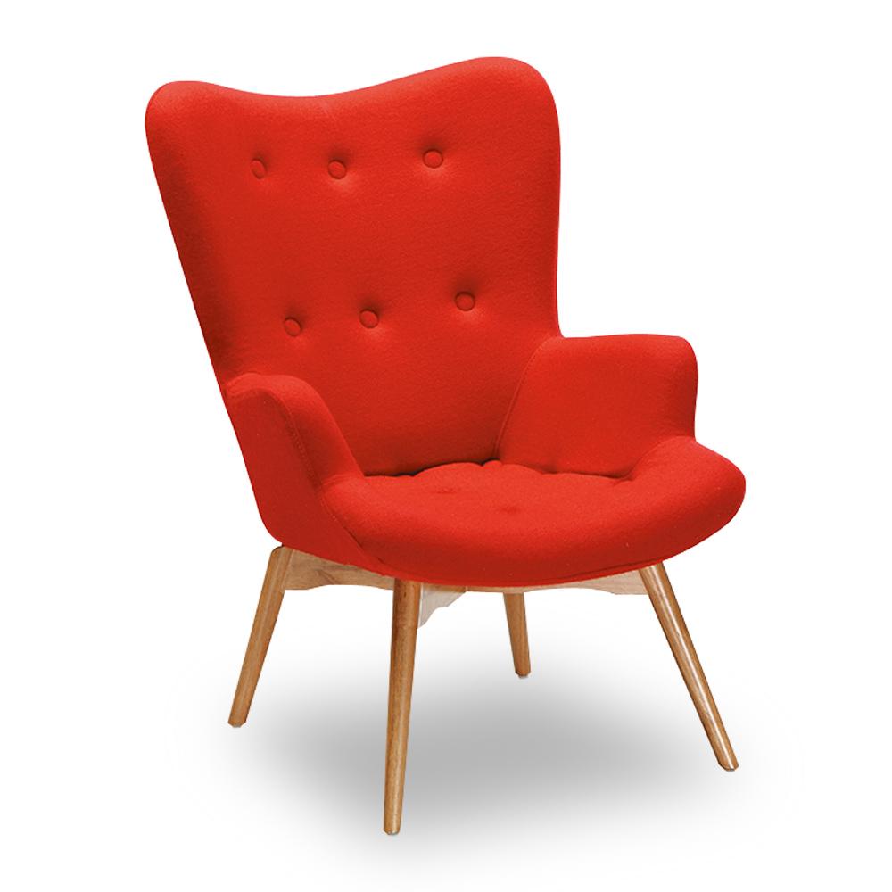 時尚屋 霍爾原木椅(單只) 寬67x深44x高96cm