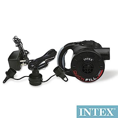 INTEX 3合1可蓄電充氣幫浦110V 12V 蓄電池(66621)