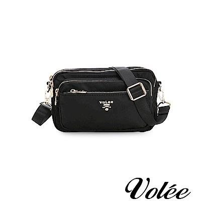 Volee飛行包-伴旅系列多功能多拉隨行鍊肩背包-德國黑