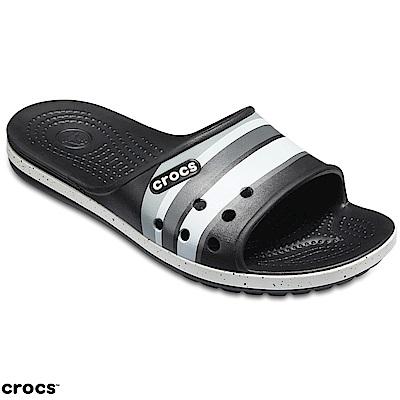 Crocs 卡駱馳 (中性鞋) 卡駱班二代圖案涼拖 204803-02G
