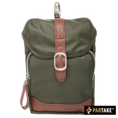 PARTAKE-A5系列-休閒腰掛包-綠-PT15