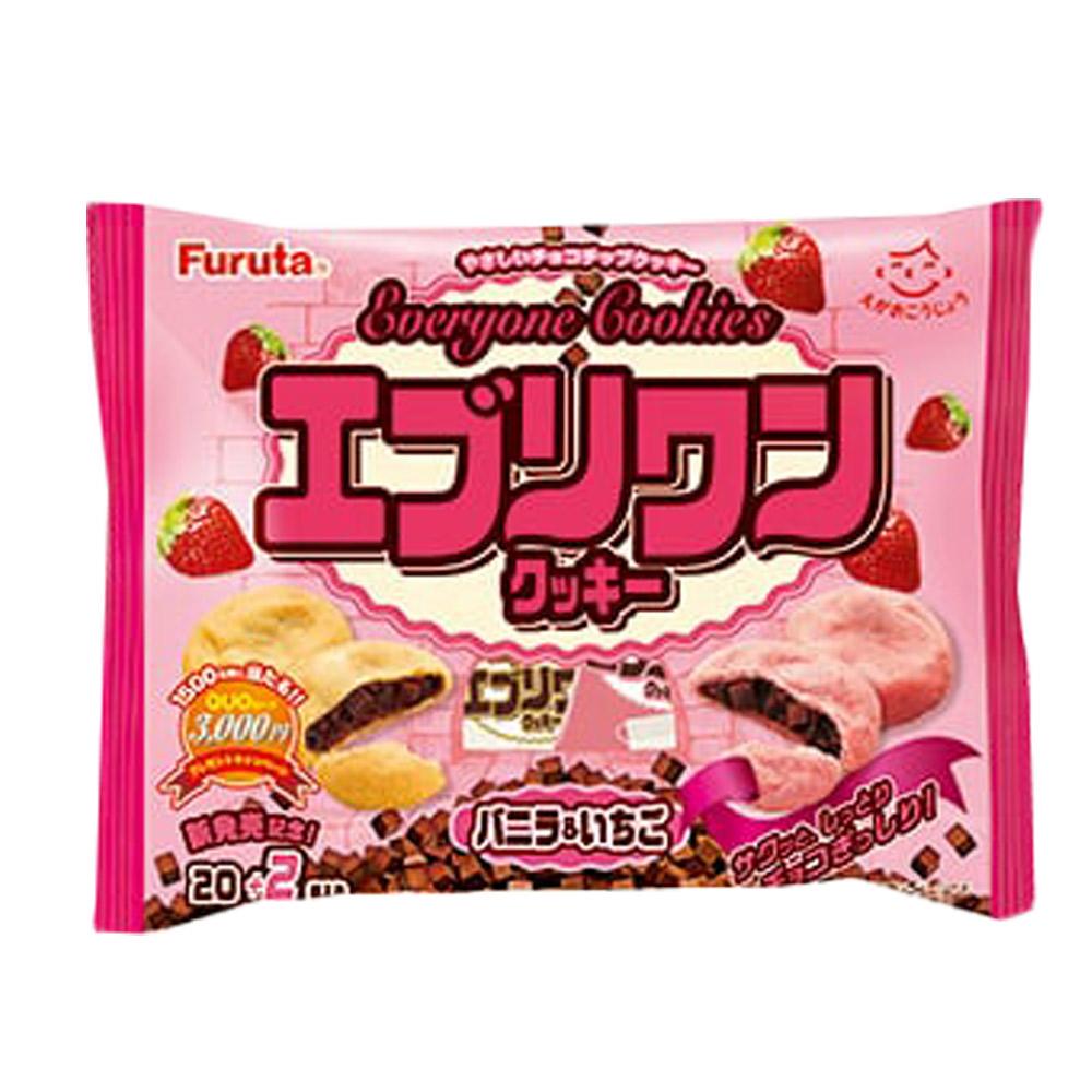 Furuta古田 Everyone餅乾-香草&草莓(220g)