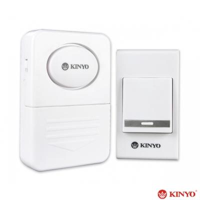 KINYO超高頻直流式遠距離無線音樂門鈴(DB-381)