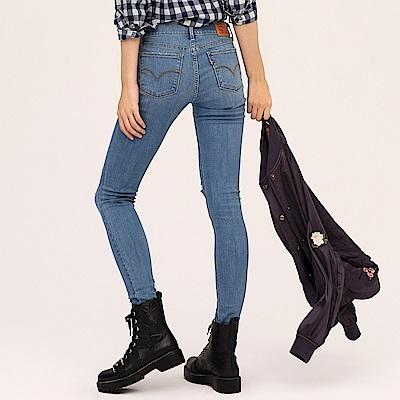 鉛筆褲 710 中腰超緊身窄管 超彈性布料 - Levis