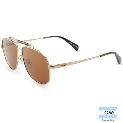 TOMS BOOKER 典雅金屬飛官款 太陽眼鏡-中性款 (10005452)