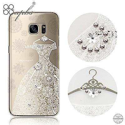 apbs Samsung S6&S6 edge施華洛世奇彩鑽手機殼-禮服