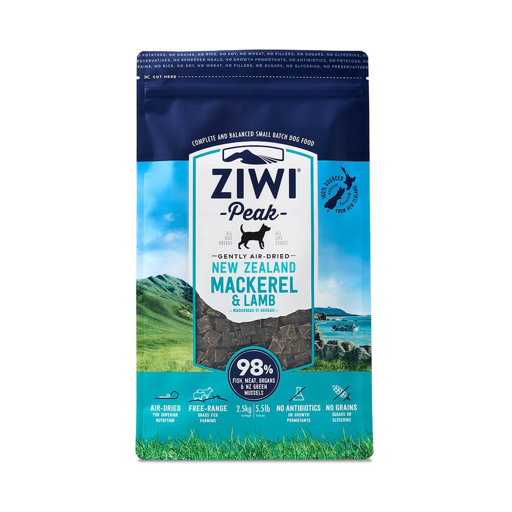 ZiwiPeak巔峰 98%鮮肉狗 鯖魚羊肉 2.5KG