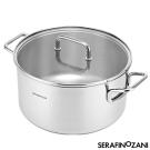 SERAFINO ZANI 雪梨系列不鏽鋼湯鍋24cm