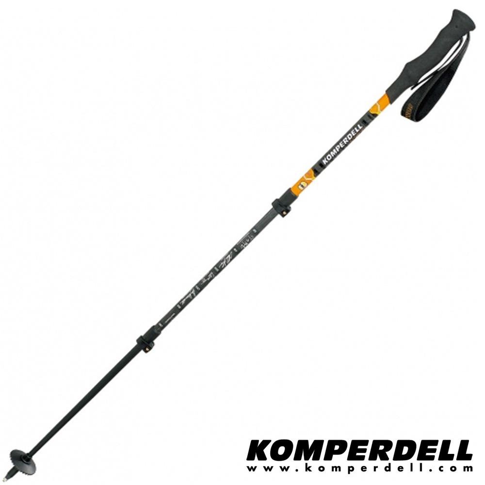 KOMPERDELL C3 Carbon Power Lock 強力鎖定登山杖(單支)