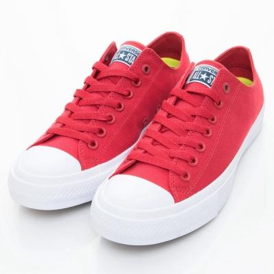 CONVERSE 男女休閒鞋 150151 C 紅