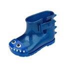 MINI MELISSA小鱷魚小童撞色雨靴-藍