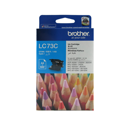 Brother LC73 原廠藍色墨水匣