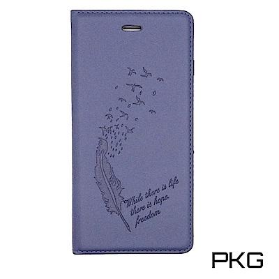 PKG Apple IPhone 7+/8+ PLUS側翻式皮套-高貴舒觸感表層...