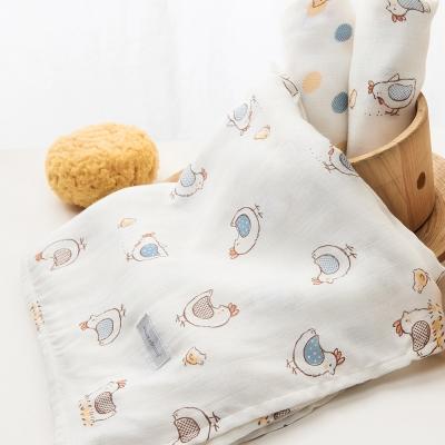 奇哥  竹纖維紗布禮盒(大包巾x1+大方巾x2)
