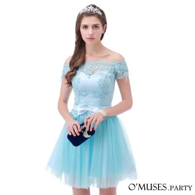 法式蕾絲婚紗伴娘禮服-OMUSES