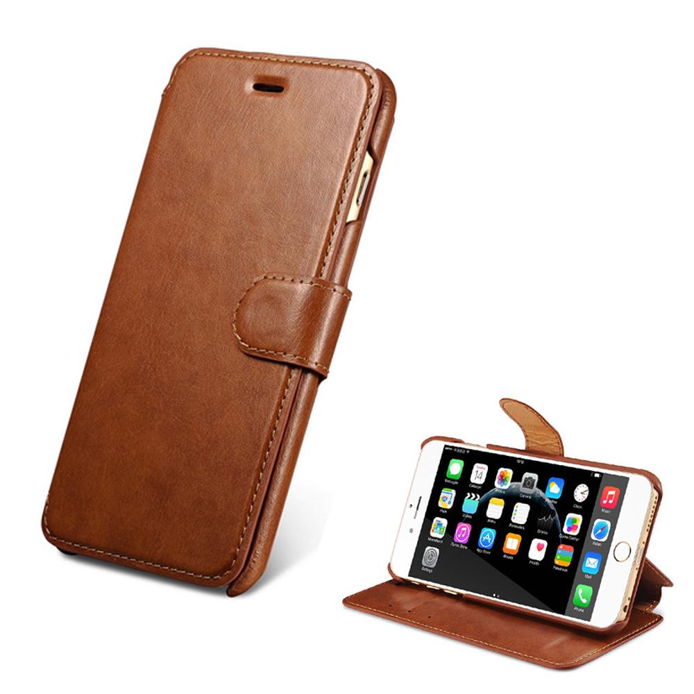 XOOMZ 雙色錢包 iphone6S/6(4.7)磁扣側掀皮套