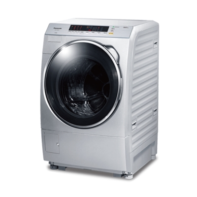 Panasonic國際牌 13公斤 變頻 滾筒洗衣機 NA-V130DW 炫亮銀