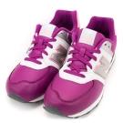 24H-New Balance-中大童鞋KL574JWY-桃紅