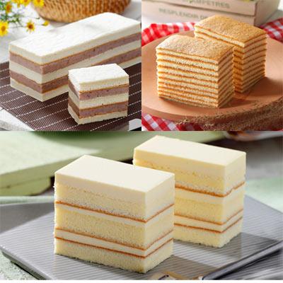 聖保羅烘焙廚房-口碑蛋糕-任選4入