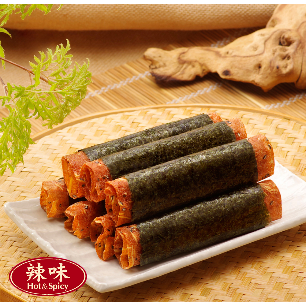 喜福田 海苔肉紙卷-辣味(55g)