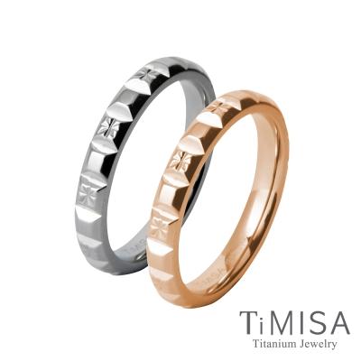 TiMISA 濃情巧克力(雙色)  純鈦對戒