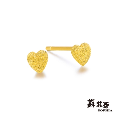 蘇菲亞SOPHIA - G LOVER系列Forever Love黃金耳環