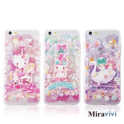 三麗鷗iPhone 6/6s(4.7吋)繁花彩繪空壓保護套