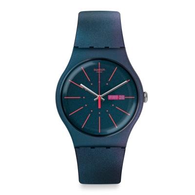 Swatch 原創系列 NEW GENTLEMAN 嶄新紳士手錶-41mm