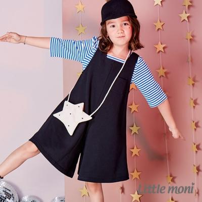 Little moni 連身寬褲裙 (共2色)