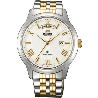 ORIENT東方錶 WILD CALENDAR系列寬幅日曆機械錶(SEV0P001W)