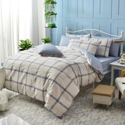 英國Abelia 早晨時光 雙人純棉四件式被套床包組