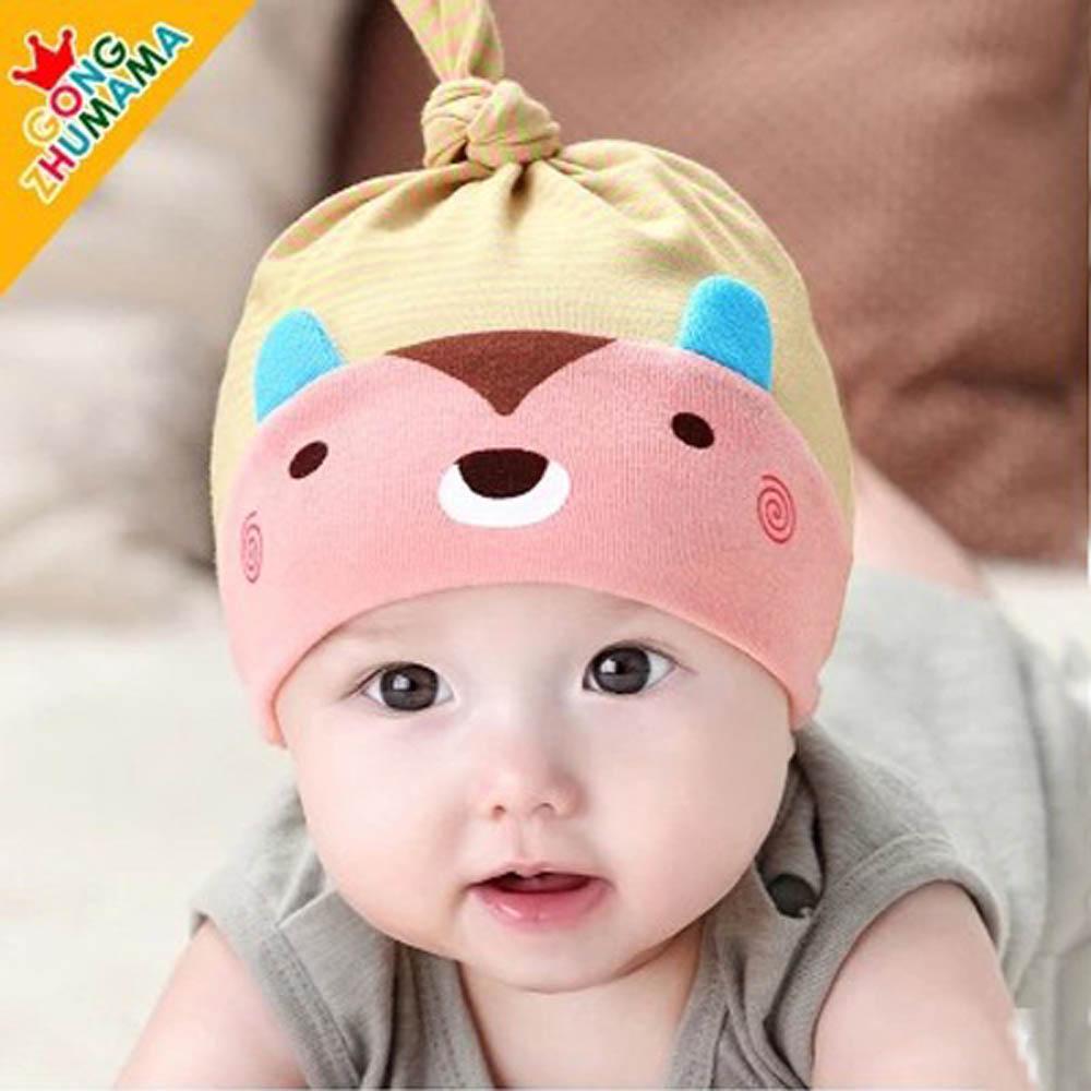 韓版-小熊寶寶睡覺套頭帽