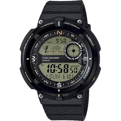 CASIO 卡西歐 SPORTS GEAR 戶外運動錶/50.6mm