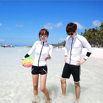Biki比基尼妮泳衣   茱麗情侶沙灘褲泳褲短褲(單男褲M-XL)
