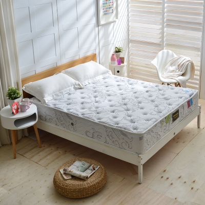 Ally愛麗 單人3.5尺 德國SILVERPLUS銀離子涼感抗菌除臭護邊獨立筒床 麵包床