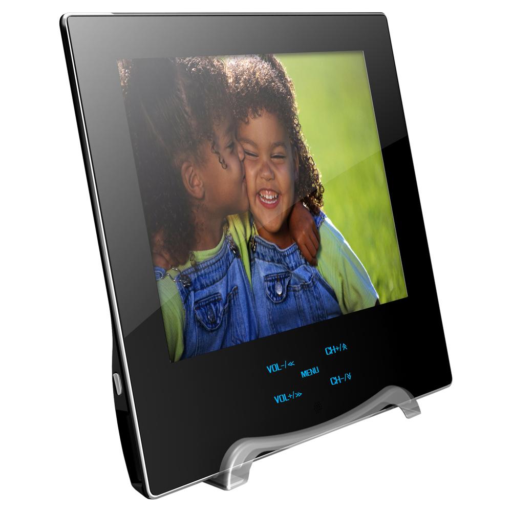 志佳超薄8吋室內車用DVB-T行動數位電視(STP-800)