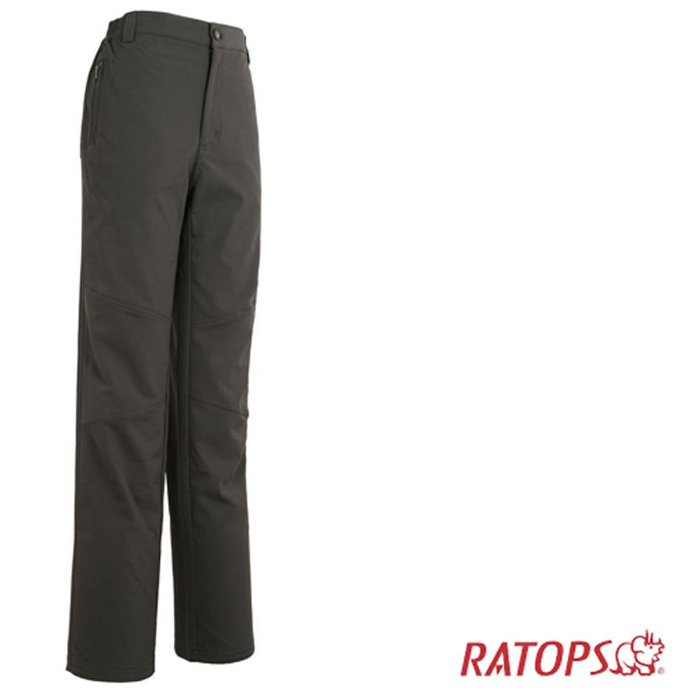 【瑞多仕】女彈性刷毛抗UV保暖長褲_ DA3653 深褐色 V1