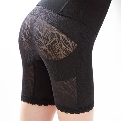 【曼黛瑪璉】魔幻美型  重機能中腰中管束褲(黑)