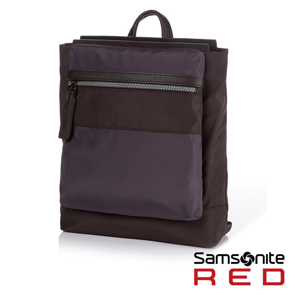 Samsonite RED RIVERE極簡沉穩筆電雙肩後背包-12.5吋(深灰)